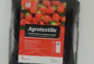 Mulčovací netkaná textilie černá 50 g/m2 – PE sáček 0,7 bm