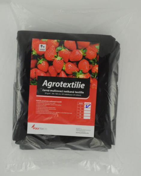 Mulčovací netkaná textilie černá 50 g/m2