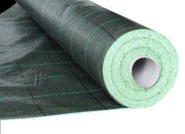 AGROJUTEX, černo-zelená tkaná mulčovací textilie – balíček