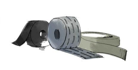 Pásky, stuhy