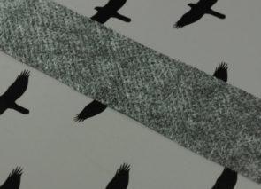 Novopast pásek šedý, 30+18 g/m2
