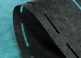 NOVOPAST PERFOPÁSEK DVOJITÝ šedý, 60+18 g/m2, šíře 9,0 cm