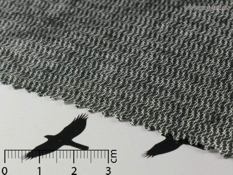 """RAŠLOVÁ VLOŽKA """"rašlovka"""" R 663 G 57, antracit – běžný metr šíře 150 cm"""